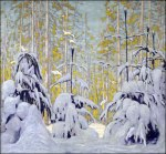 Lawren Harris, Winter Woods