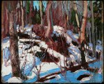 Tom Thomson, Winter Thaw