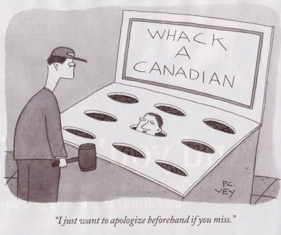 Whack-a-Canadian
