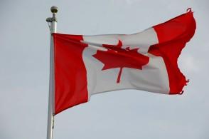Canadian Flag, Lunenberg, N.S.