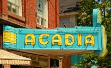 Acadia Theatre, Wolfville, N.S.