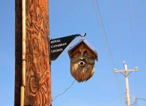 Another David Taylor Birdhouse in Canning, N.S.