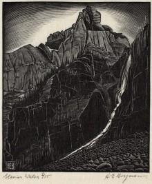 "H. Eric Bergman, ""Glacier Water"" (1931)"