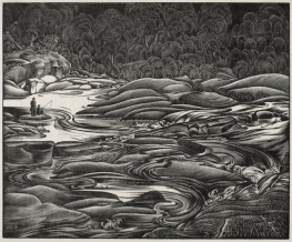 "H. Eric Bergman, ""Whirling Water"" (1939)"