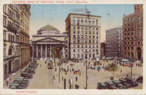 Bank of Montreal, Postmarked Jun 17, 1930