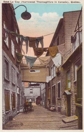 Sous Le Cap, Quebec, Early 1900s