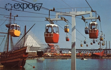 Overhead Cable Cars
