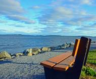 Park Bench, St. Andrew's By the Sea, New Brunswick