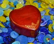 Heart-Shaped Box from Vintage Shop in Toronto