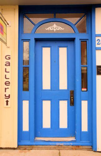 Blue Door, Annapolis Royal, N.S.