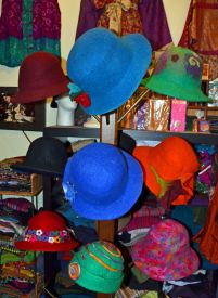 Colorful Hats, Vintage Shop, Toronto