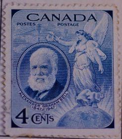 Alexander Graham Bell Stamp