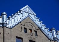 Building Top Detail, Montreal