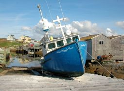 Fishing Boat, Peggy's Cove, N.S.