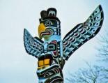 Totem Pole, Stanley Park, Vancouver