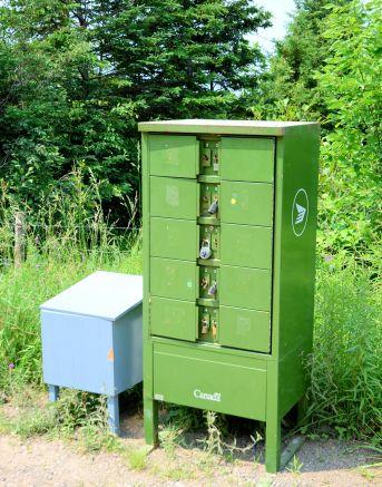 Rural Canada Post Mailbox, Near Bear River, N.S.