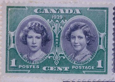 1939 Royal Princesses Stamp