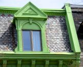 Architectural Window Detail, Quebec City, N.S.