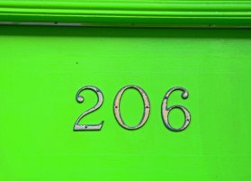 House Address Numbers, Montreal