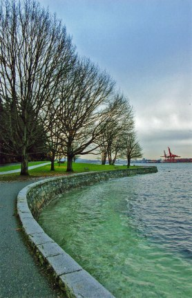 Along the Seawall, Stanley Park, Vancouver