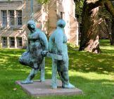 Bronze Statues, University of Toronto Campus