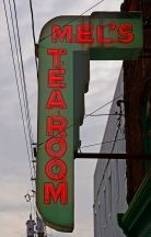 Mel's Tea Room Neon Sign, Sackville, N.B